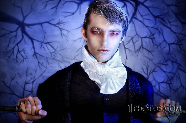 Halloween Vampire Makeup Men Classic vampire